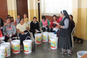 2nd Water Women group with Sr. Teresa