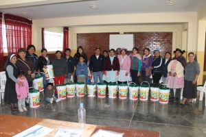 Whole group of Water Women-2nd Training