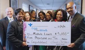 Michele Lewis' award