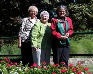 Congregation of Sisters of Bon Secours, USA Leadership Team. (l-r) Sisters Rose Marie Jasinski, CBS, Anne Marie Mack, CBS, and Elaine Davia, CBS.
